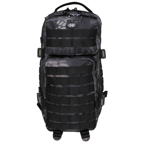US Rucksack Assault I, Snake Black Camo