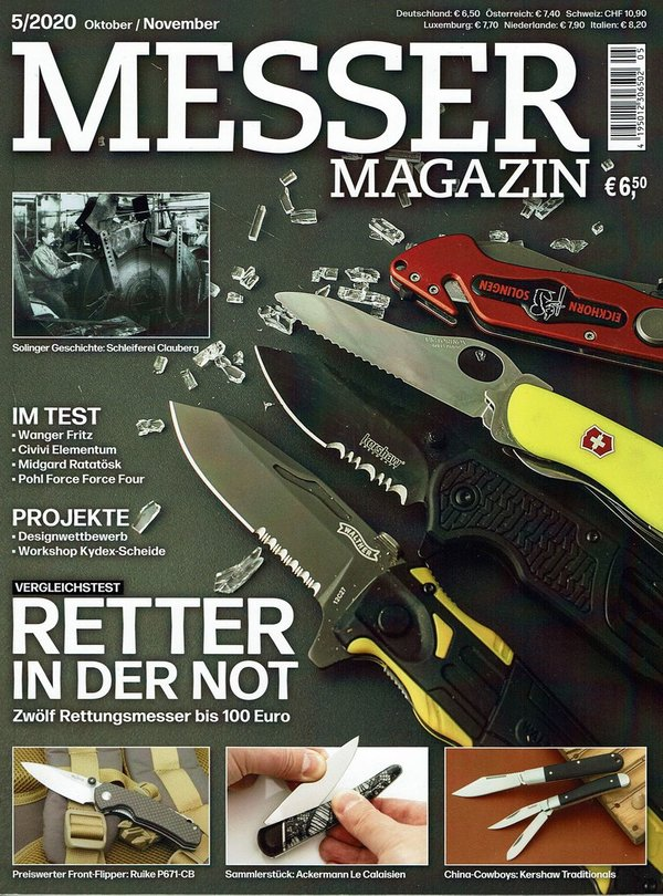 MESSER MAGAZIN Oktober/November 5/2020